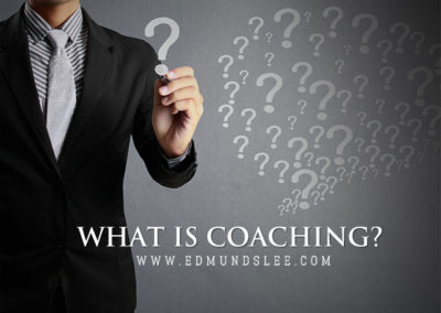 Just What Is Coaching, Anyway?